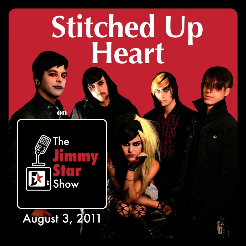 """Hard Rock Band Stitched Up Heart on """"The Jimmy Star Show"""
