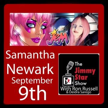 Samantha Newark on The Jimmy Star Show