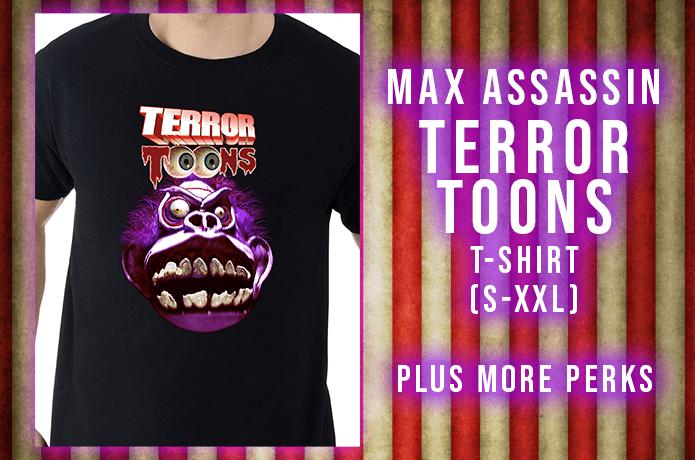 Max Assassin tshirt