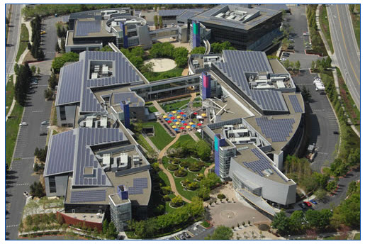 googleplex solar