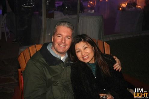 Doug and his wife