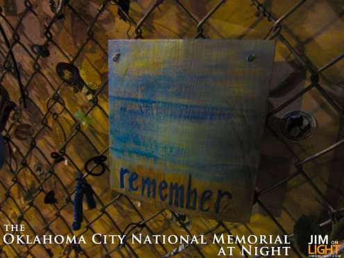 Oklahoma City National Memorial, JimOnLight.com
