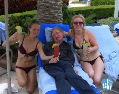 Stephen Hawking is a PLAYA