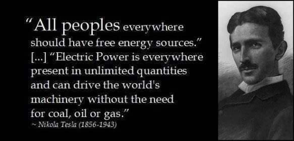 tesla-free-energy