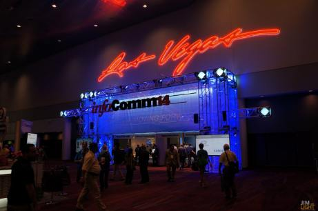 The INFOCOMM 2014 Entryway!