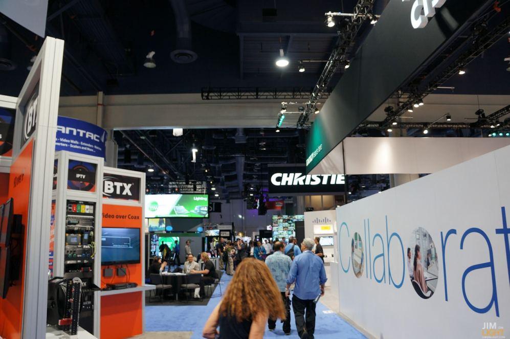 CHRISTIE's Booth, InfoComm 2014