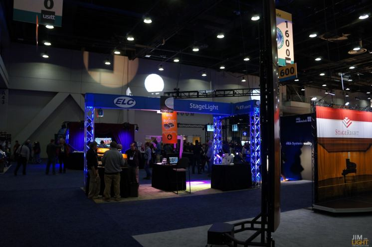 USITT 2015 Show Floor... ELC/Stagelight