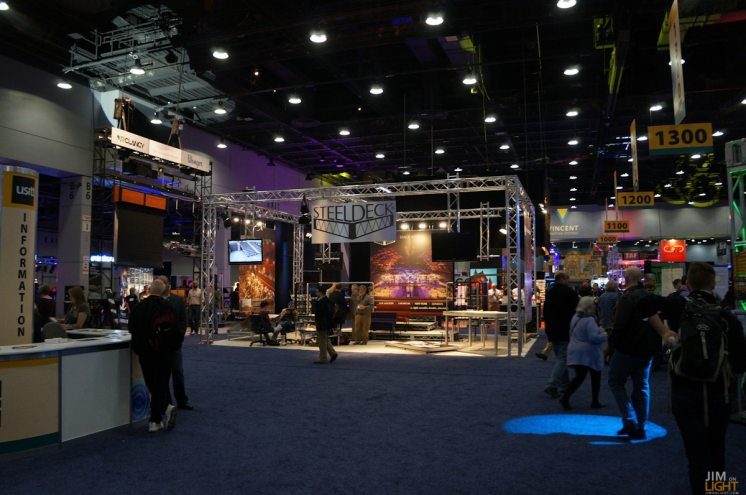 USITT 2015 Show Floor... Steeldeck