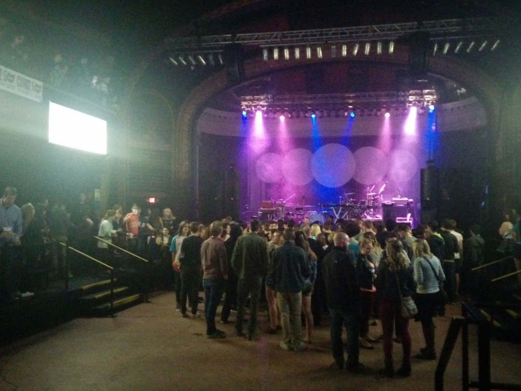 Newport Music Hall in Columbus, OH -- very similar size and layout to Le Bataclan in Paris