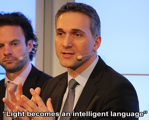 """Light becomes an intelligent language"""