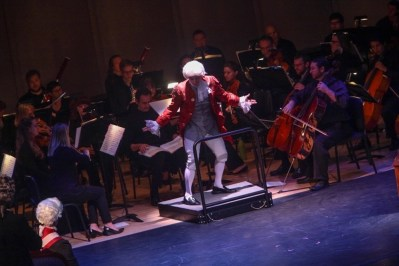 """""""IMG_5911.jpg_ The Fayetteville Symphony, Cape Fear Regional Thatre and Th university of North Carolina at Pembroke Choir present Amadeus at Seabrook Auditorium on Friday, March20th, 2015."""""""