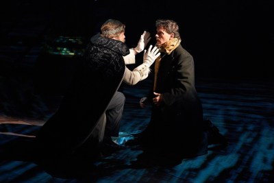 Jeffrey Cummings, Jim Poulos - Hamlet by William Shakespeare presented by Repertory Theater of St. Louis on Oct 10, 2017. Photo: Peter Wochniak