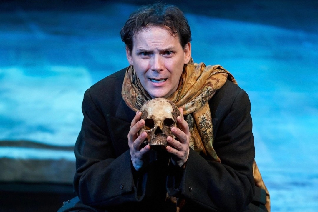 Jim Poulos - Hamlet by William Shakespeare presented by Repertory Theater of St. Louis on Oct 10, 2017. Photo: Peter Wochniak