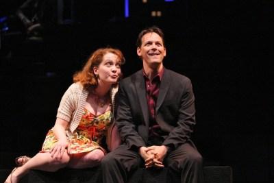 Leslie Henstock, Jim Poulos - Company at Geva Theatre Center, 2012: Director: Mark Cuddy, Scenic Design: G.W. Mercier, Costume Design: Pamela Scofield, Lighting Design: Joel Moritz, Photos: Ken Huth