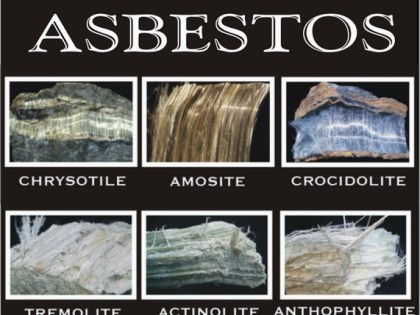 Different Types Of Asbestos