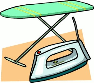 ironing board_iron