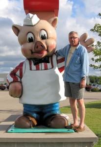 Piggly Wiggly Pig