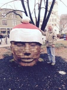 Big Santa Head