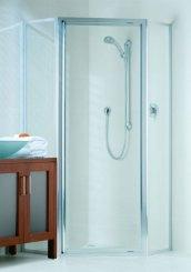 2 Framed Shower Screens