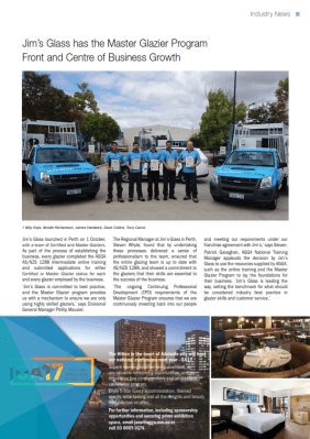 Jims-Glass-Perth-Article-in-GA-Magazine_001-212x300 Jim's Glass Perth - Leading the Glass Industry with Best Practice