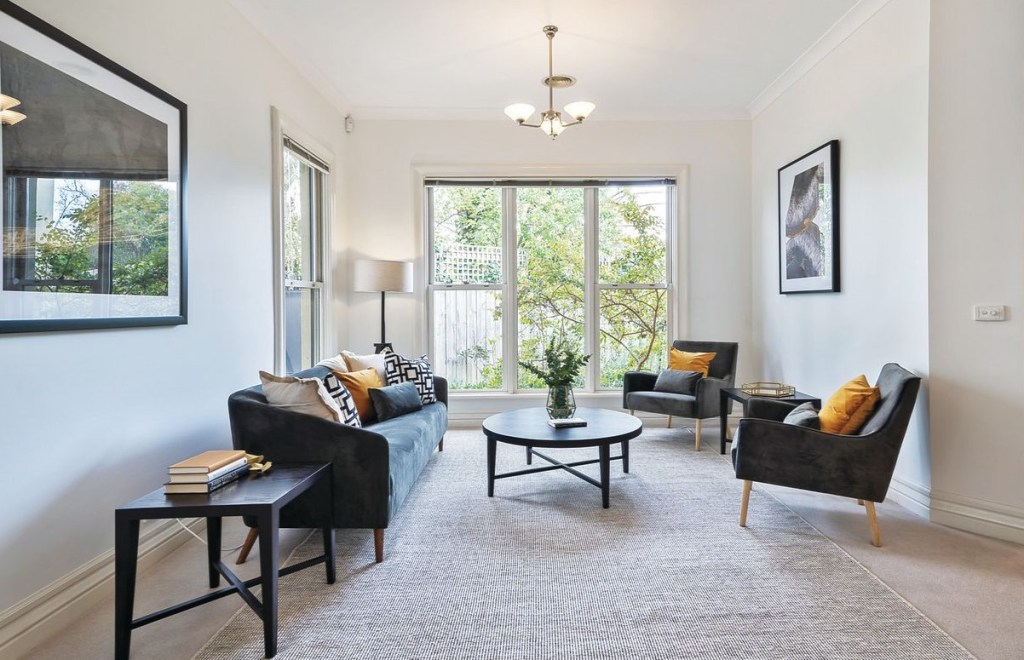 After Property Styling Malvern East Formal Living 2