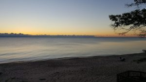 Lake Huron sunrise