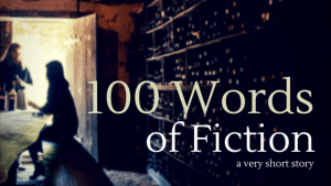 poster: 100 words of fiction