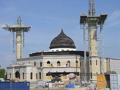 Mosque Under Construction Near Dearborn, MI