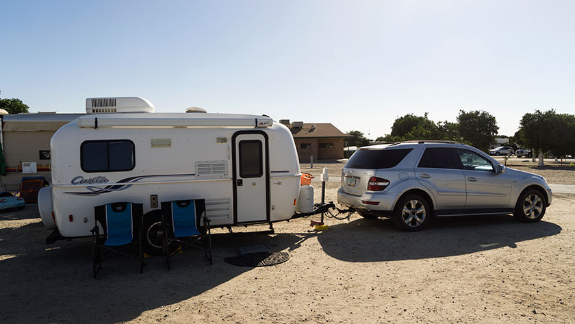 Bakersfield Campsite