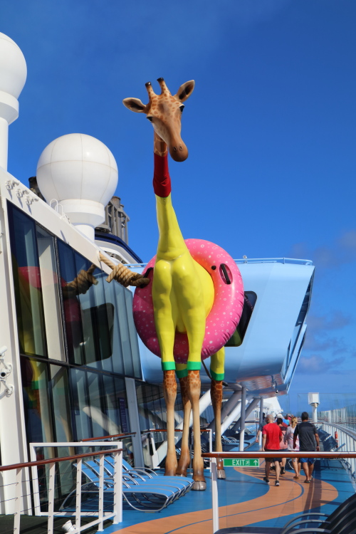 Afbeeldingsresultaat voor Anthem of the seas is en Giraf