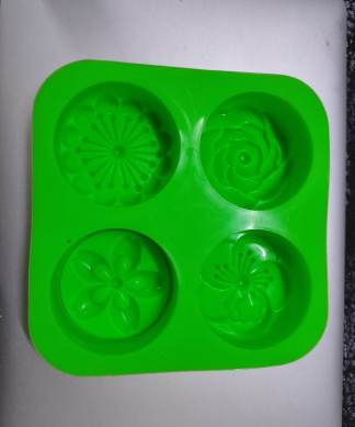 Vedini 4 Cavity Flower Silicone Mold