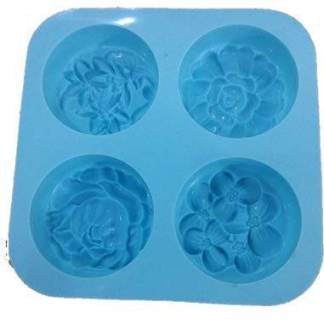 flower designed silicone mould