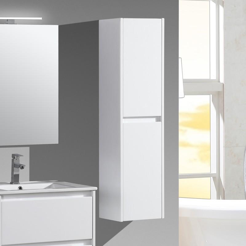 aquadoli colonne salle de bain blanche