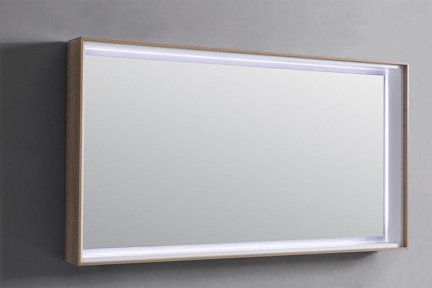 miroir lumineux a leds pour salle de