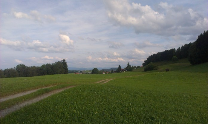 Výhled na Aply ze Svatojakubské stezky
