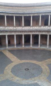 Aréna v maurské pevnosti Alhambra ve španělském městě Granada.