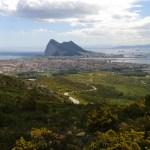 Výhled na La Línea de la Concepcion a Gibraltar