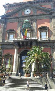 Výstavní budova národního archeologického muzea v Neapoli