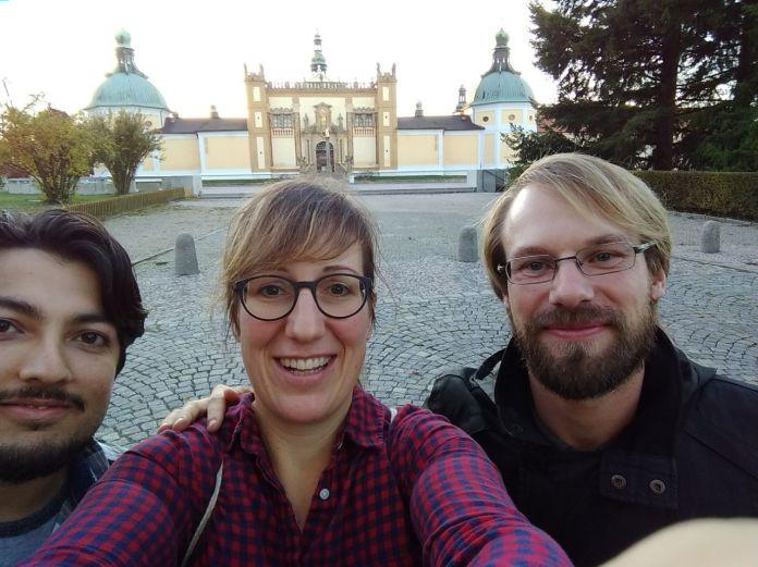 Rusky mluvící Ind, Němka, Jindra na Svaté Hoře v Příbrami