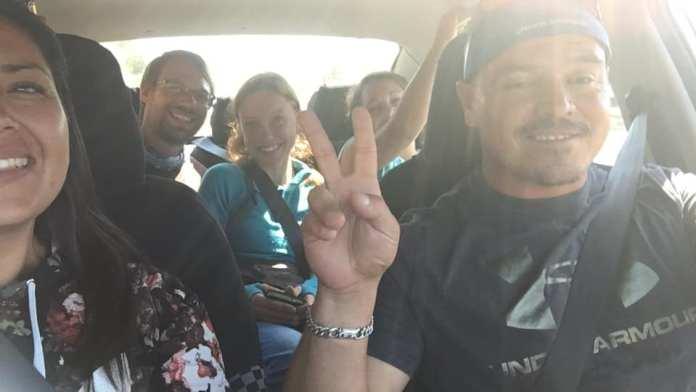 Chilská rodina nás svezla na 600 kilometrů a nechali nás u sebe přespat