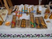Svíčka, včelí vosk, ruční výroba, řemeslný výroba, stánek, trh