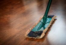 Mop, úklid, očista, prostor, starý dům, vyklízení,