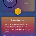kryptoměna, token, coin, Alpha Network, Alpha Coin, omezená zásoba