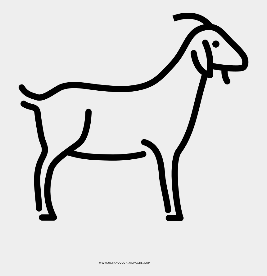 Goat Coloring Page Horse Cliparts Cartoons Jing Fm