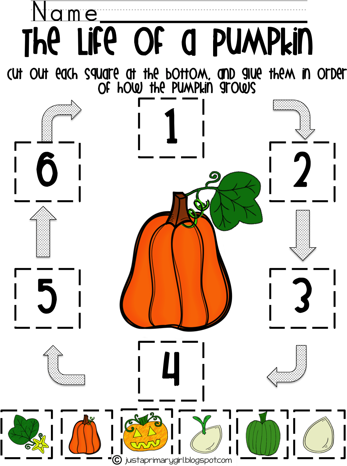 Five Senses Fall Acrostic
