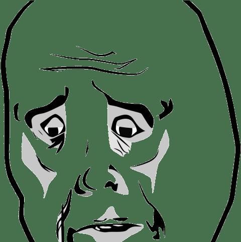 Trollface Clipart Meme Transparent Okay Face Transparent