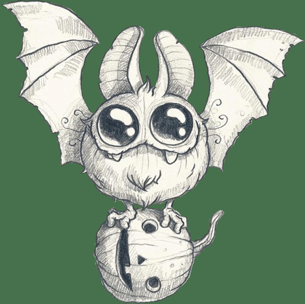 Bat Cute Halloween Pumpkin Freetoedit