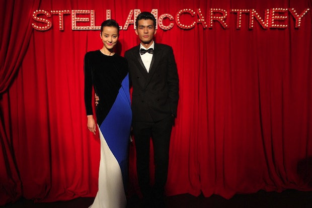Pei Bei Wang and Zhu Xiao Yin at a recent event celebrating designer Stella McCartney's China expansion. The report cites McCartney as one of the designers gaining in popularity in China as consumers become more interested in niche labels. (Women's Wear Daily)