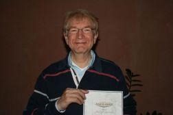 Hans Hoogendoorn met Award