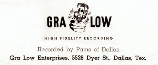 PAMS - Fred Lowery - Als opgenomen door PAMS